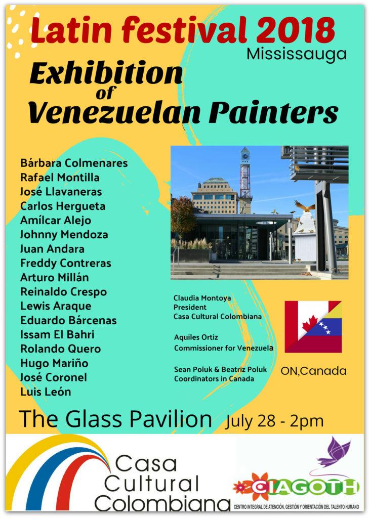 Festival Latino de Canada Pintores Venezolanos