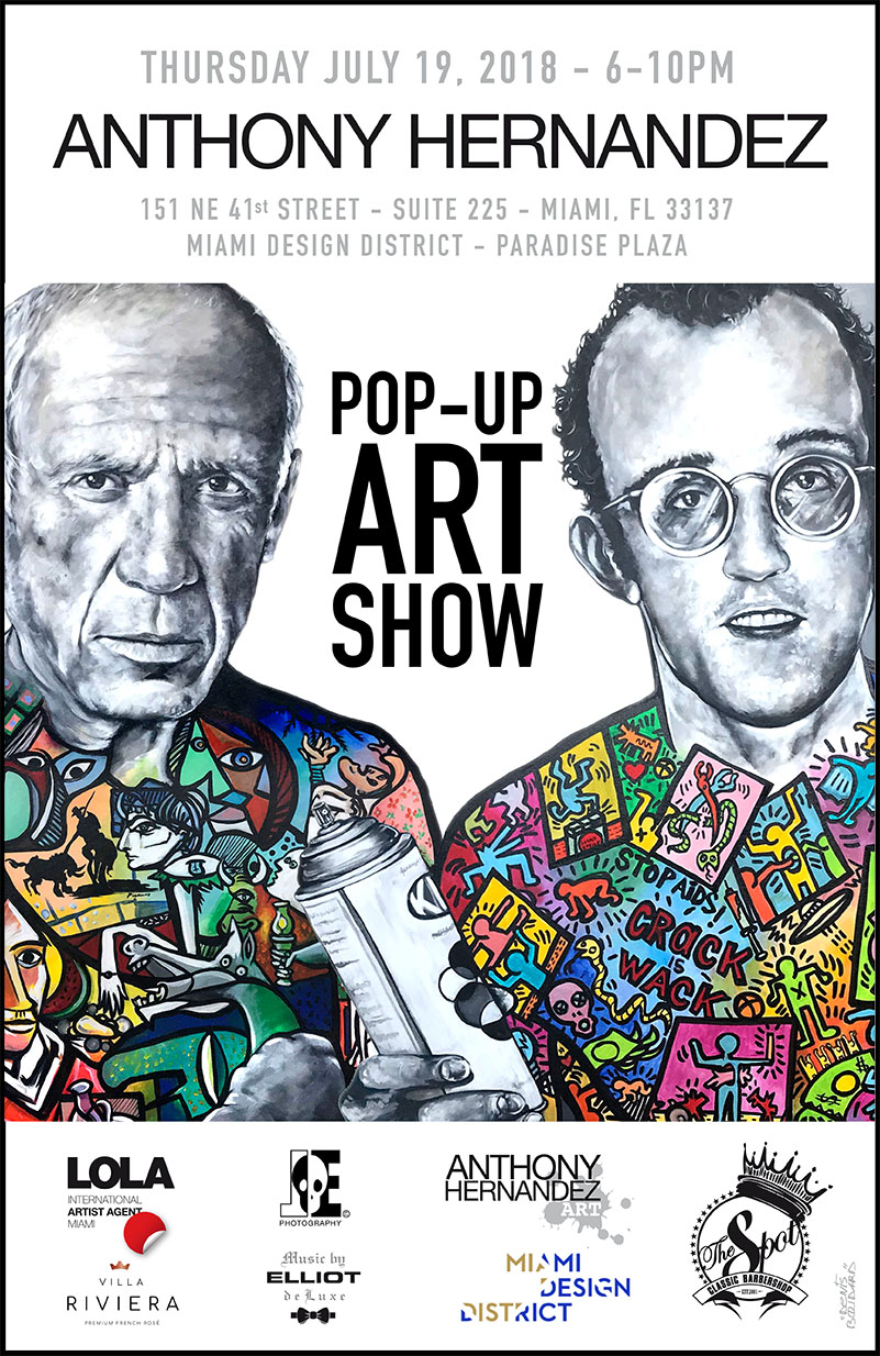 MIAMI POP-UP ART SHOW with ANTHONY HERNANDEZ