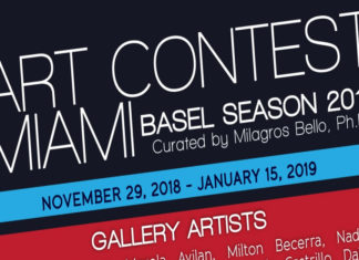 ART CONTEST MIAMI/BASEL SEASON 2018