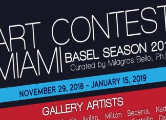 ART CONTEST MIAMI/BASEL SEASON 2018