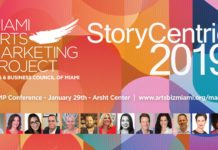 Miami Arts Marketing Project StoryCentric 2019