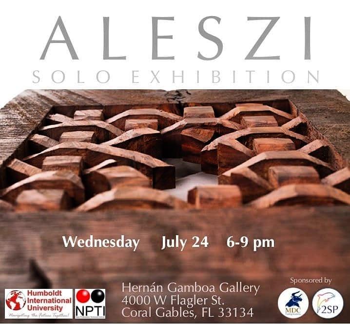 Alejandro Szilágyi Solo Exhibition