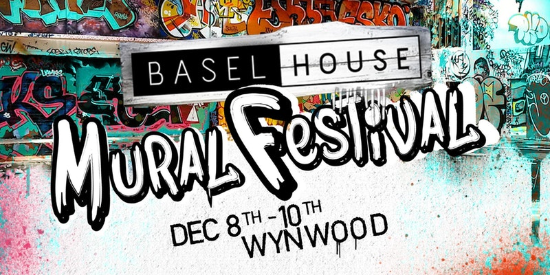 "Basel House is THE place during Art Basel Week where hip art and eclectic music meet. For the fifth edition of Basel House we present Wynwood's first official Mural Festival. There will be 40+ mural projects by top street artists and art organizations from across the globe painting large murals across six city blocks in Miami's Wynwood Arts District, including a digital arts and Interactive VR Playground. The FREE Mural Festival will offer live painting, unique art installations, live music, late-night DJs, mural tours, workshops, an art & lifestyle market place, food trucks, and the ""Sweet Spot"" filled with Instagram-worthy desserts. RSVP today to get your first drink FREE"