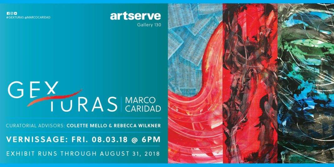 Gexturas: Solo Exhibition by Marco Caridad