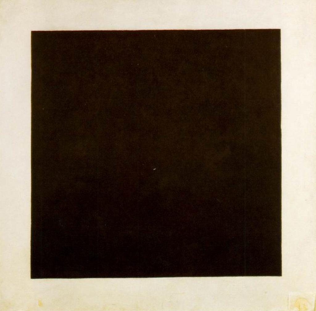 kazimir severinovich malevich black square