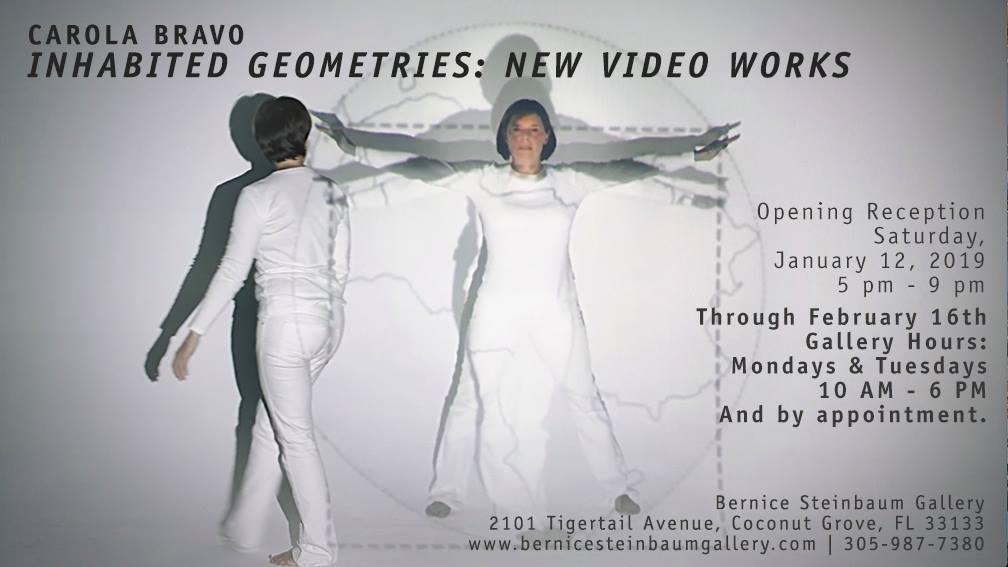 Carola Bravo, Inhabited Geometries: New Video Works