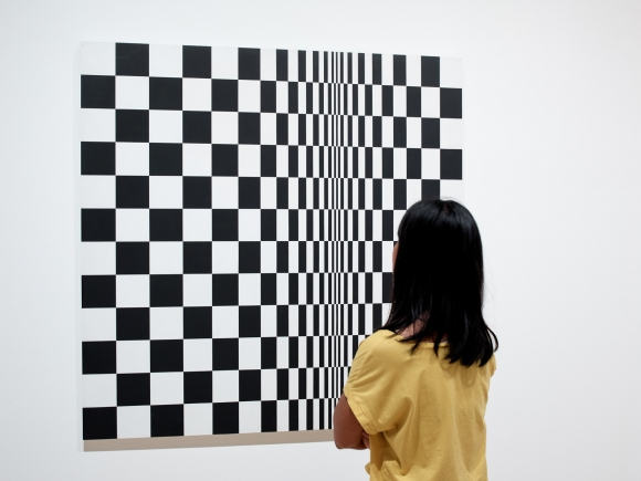 Movement In Squares (1961). British Council. By Bridget Riley.