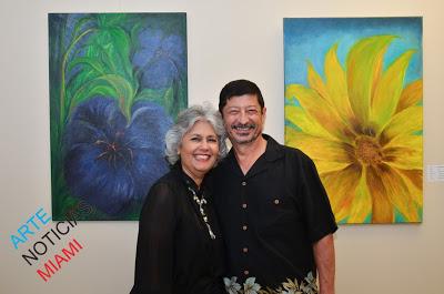 Yvonne Salas y Richard Bello Landaeta 7mo Salón de las Américas