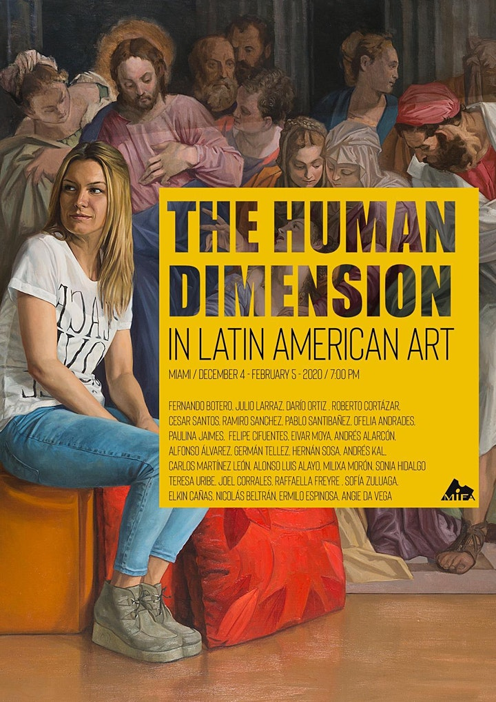 The human dimension in latin american art
