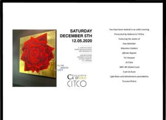 Galleria Ca' D'Oro x CITCO - Miami Art Week Event