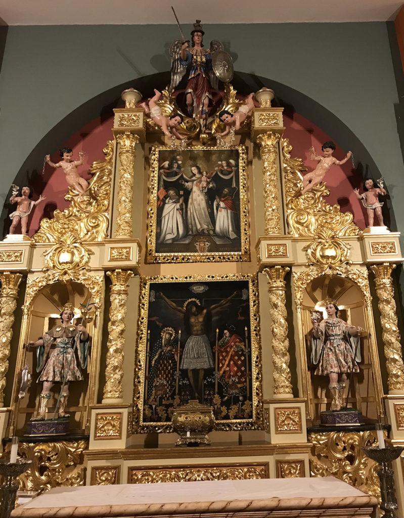 The Chapel of La Merced. Miami Main altar
