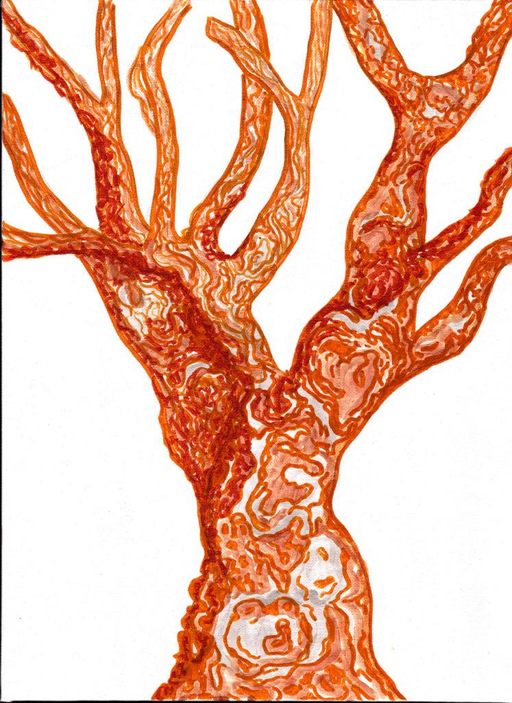 Lorien Suarez-Kanerva Wooded Terrain Study #10, 2021