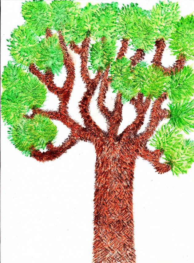 Lorien Suarez-Kanerva Wooded Terrain Study #11, 2021