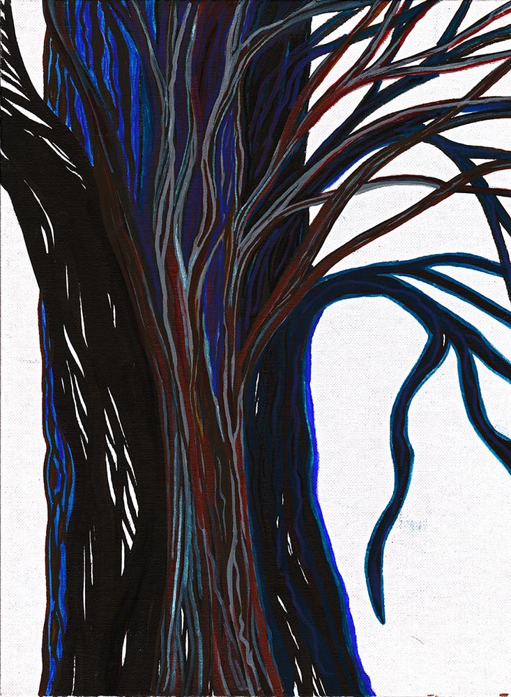 Lorien Suarez-Kanerva Wooded Terrain Study #2, 2021