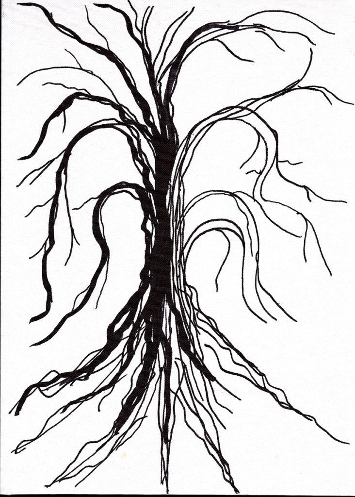 Lorien Suarez-Kanerva Wooded Terrain Study #6, 2021