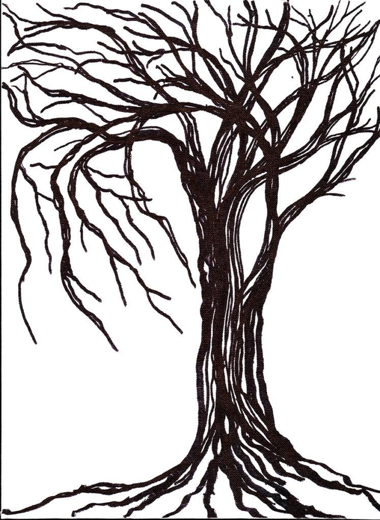 Lorien Suarez-Kanerva Wooded Terrain Study #7, 2021