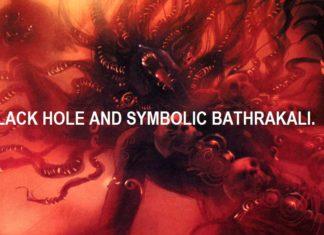 BLACK HOLE AND SYMBOLIC KALI