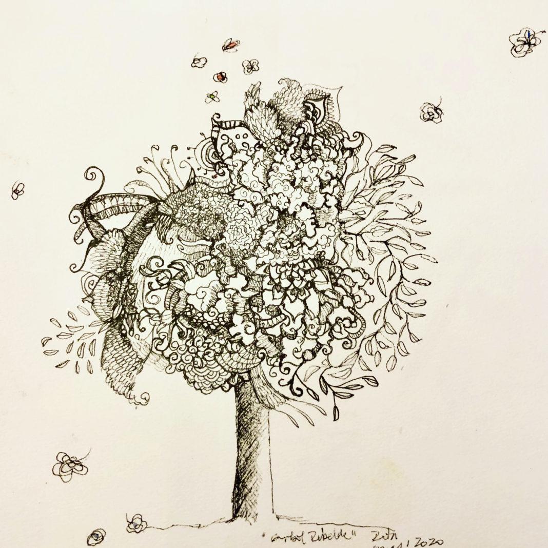 La artista chilena Claudia Retamal