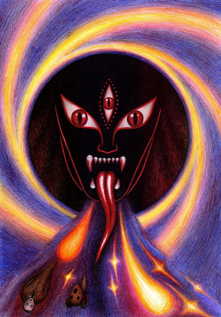 I'm Kali. I'm a black hole by  lizard-mantidae